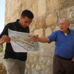 Exploring the Archeology of the ancient City of Jerusalem with Dr. Meir Ben Dov and tour guide Nedal Junaidi