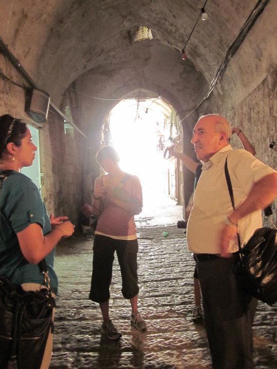 Old City tour with Dr. Nazmi El Jubeh